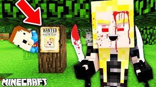 BARDZO NIEBEZPIECZNA DZIEWCZYNA MORDERCA!!!- Minecraft Murder Mystery