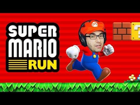 SUPER MARIO RUN - Mario Para Celular!? (iPhone / iOS Gameplay em Português)