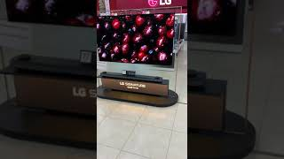 Glass TV preview LG Signature