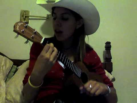 vanessa- Goodbye Earl on ukulele by dixie chicks