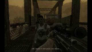 Far Cry 2 DtX 10 Gameplay Distruzione Ponte 1680x1050 HD ITA