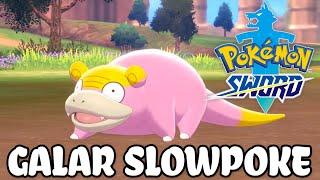 Galariański Slowpoke w Pokemon Sword/Shield! | Remake Pokemon Mystery Dungeon