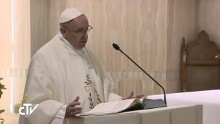 Papa Francesco: no allo spirito mondano, sì a Dio
