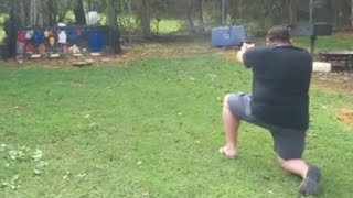 Taurus TX22 Take A Knee At 10 Yards And Go.