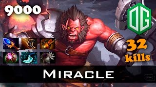 Miracle Axe 32 kills - 9k MMR Ranked Dota 2