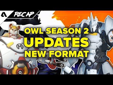 Overwatch League Season 2 Updates: New Format, More Breaks & Less Player Burnout | Akshon Recap thumbnail