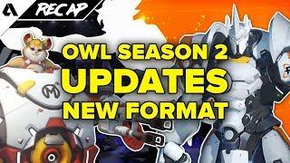 Overwatch League Season 2 Updates: New Format, More Breaks & Less Player Burnout | Akshon Recap
