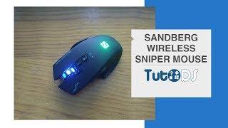 Análise do Sandberg Wireless Sniper Mouse! Rato sem fios e com bateria?