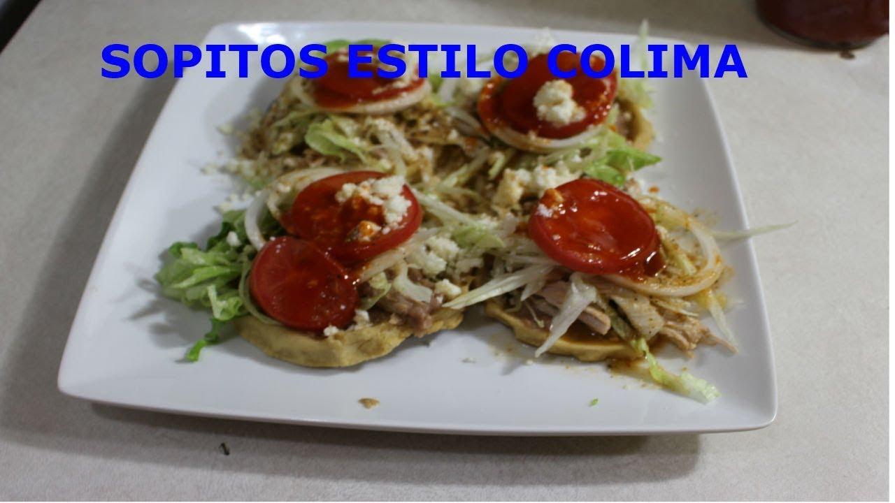 CHILAYO ESTILO COLIMA 2 - YouTube  |Capirotada Estilo Colima