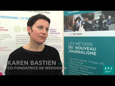 Interview Karen Bastien, co-fondatrice WeDoData à #4MParis