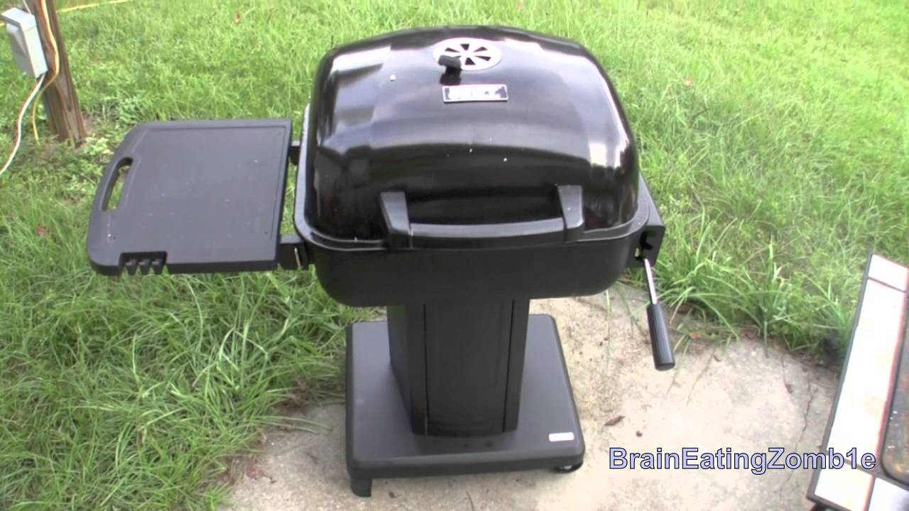 Backyard Pedestal 22 inch Charcoal Grill - Backyard Pedestal 22 Inch Charcoal Grill - YouTube