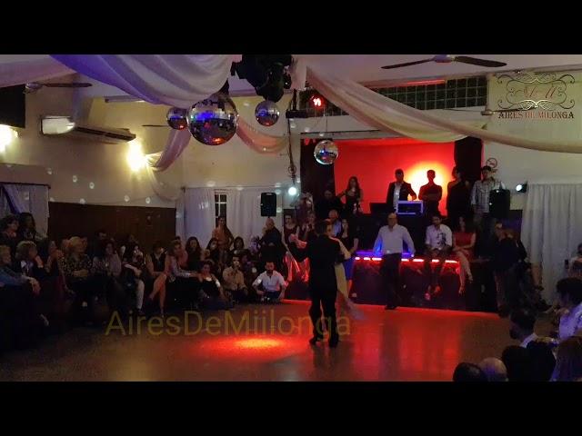 Tangazo por los últimos campeones pista Mundial de Tango 2018, en Montevideo