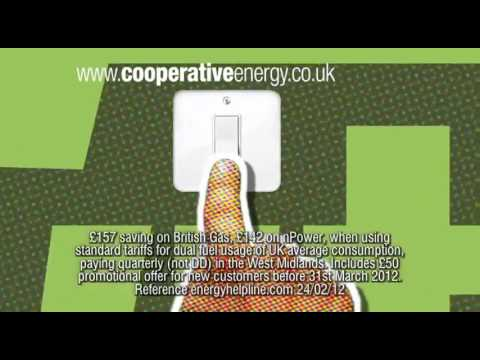 Co operative Energy TV advert March 2012