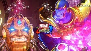 The Final Boss Battle! Thanos True Ending - Marvel Vs Capcom Infinite: Story Mode Walkthrough Part.6