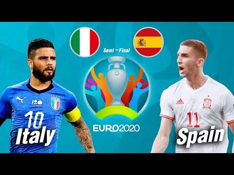 PES 2021 | อิตาลี VS สเปน | ยูโร 2020 รอบรองชนะเลิศ !! มันส์ ๆ ก่อนจริง