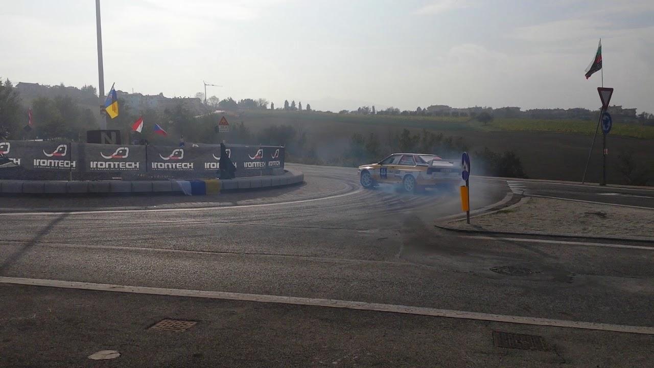 jakub brzezinski i michal jucewicz i san marino rallylegend 2017