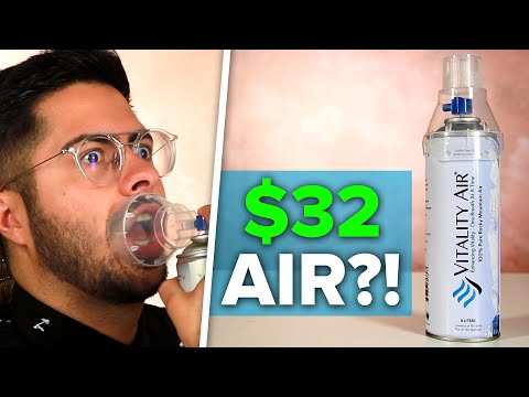 We Tried $32 Bottled Air