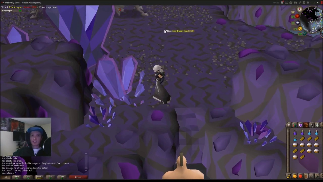 Steel dragons slayer guide 2007 /location / loots oldschool.