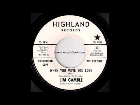 Jim Gamble - When You Move You Lose [Highland] 1969 Soul Funk Breaks 45
