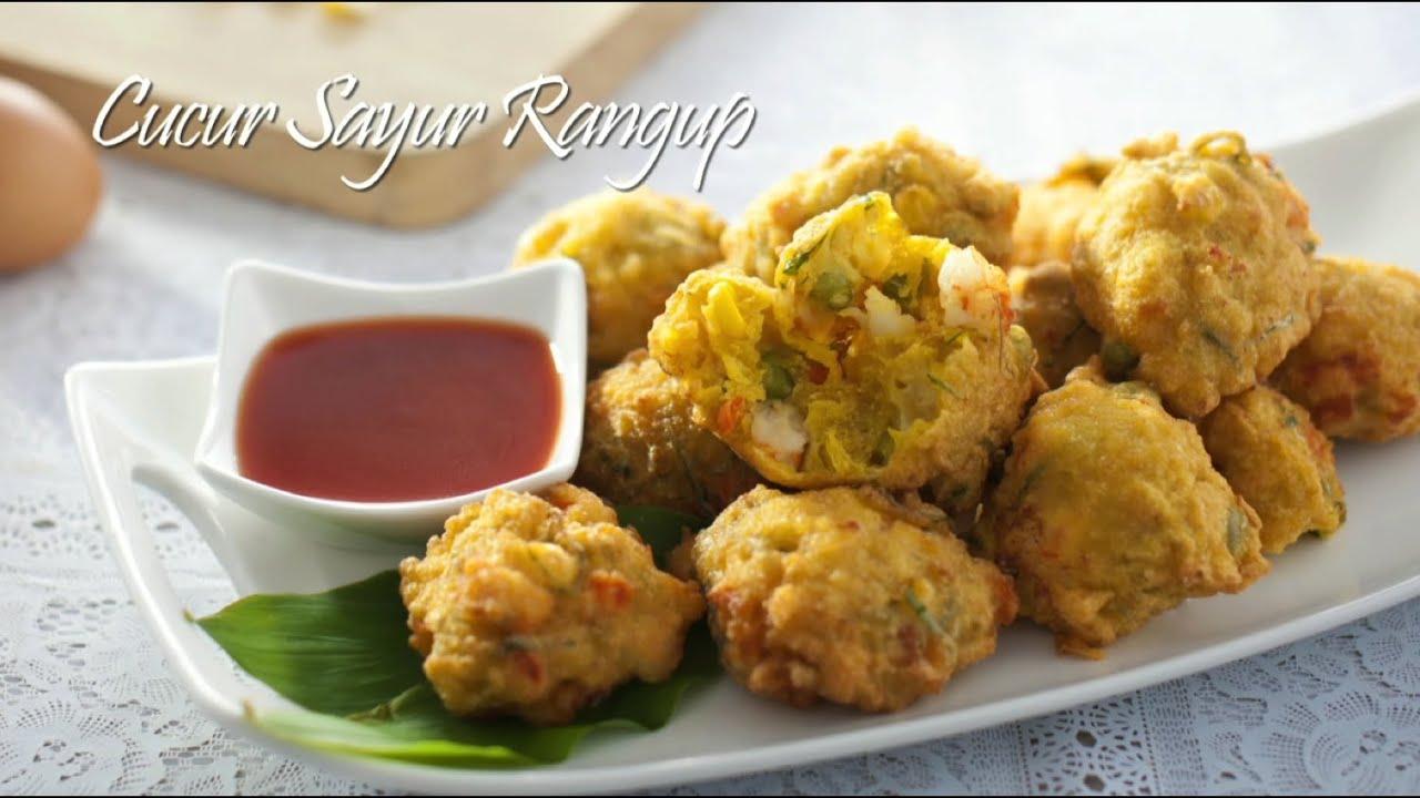 Tasty Treat: Cucur Sayur Rangup / Crunchy Vegetable Fritters - YouTube