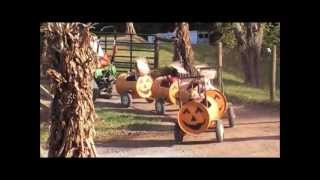 Homestead Gardens Fall Festival Pumpkin Ride John Deere X Series Davidsonville Maryland