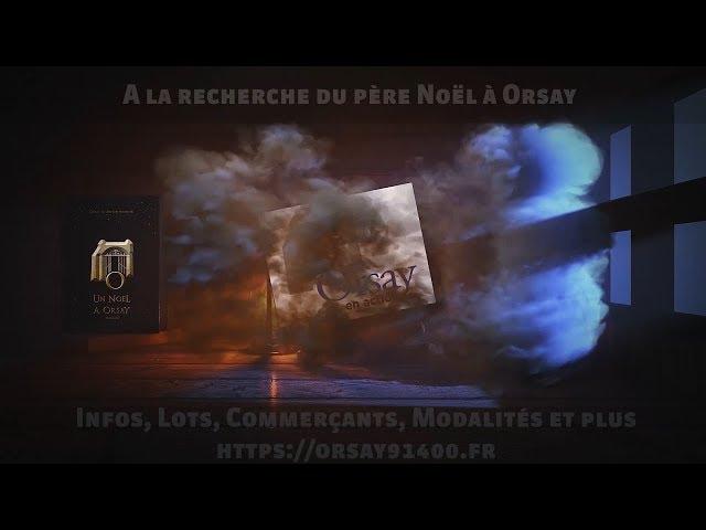 🎅 A la recherche du père Noël à Orsay ! 🎁🎁🎁