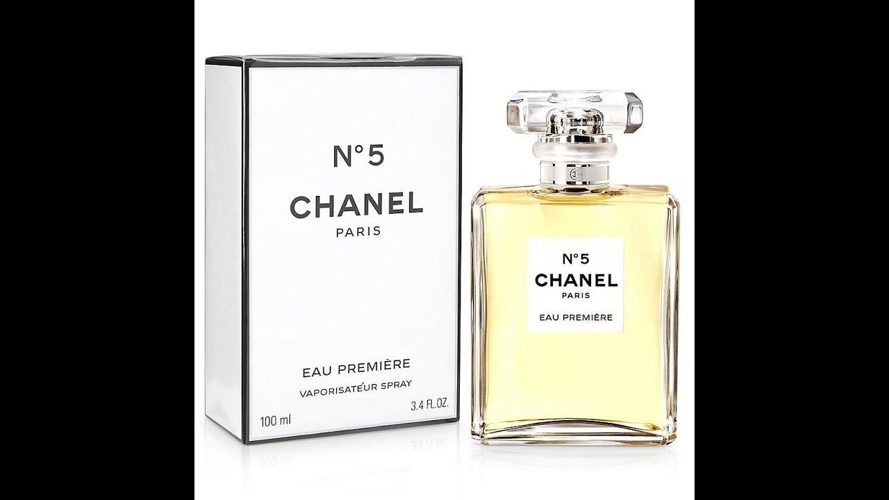 Chanel No 5 Eau Premiere for Women (2015) - YouTube dadcd75b4c