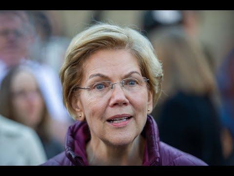 Warren Gets Emotional When Asked About 'Two White Men' Being Last Remaining Candidates
