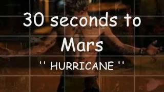 30 seconds to Mars-Hurricane (refrain-ringtone)
