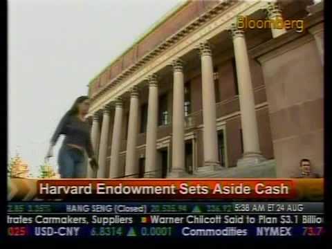 Harvard Endowment Sets Aside Cash - Bloomberg