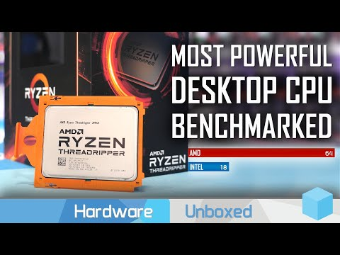 AMD Threadripper 3990X Review: Intel's 18-cores, Crushed by AMD's 64-cores