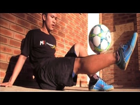 Football Freestyle Interview - with Le Freestyler