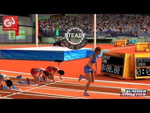 SPECIAL! World Athletics Championships 2017 (Let's Play Summer Athletics)