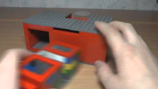 ОБЗОР ЛЕГО СЕЙФА ВТОРОЙ ВЕРСИИ (ДЛЯ КОНКУРСА ОТ (LegoDimaRus)