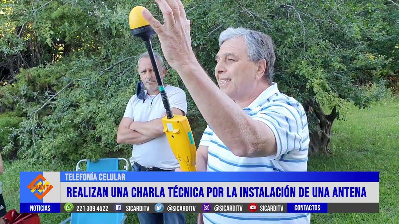 Se realizó la charla sobre telefonía en Ignacio Correas