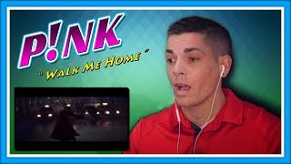 "P!NK Reaction | Finger Smasher Reacts to ""Walk Me Home"" Video"