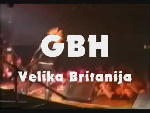 GBH, Extreme Noise Terror, Wasserdicht @ Unterhund Ormož, Slovenia 22.2.2013 Promo