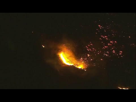 ***LIVE*** 125,000 Acres Burn In Southern California