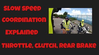 Motorbike - Instructor - Training - Lesson - Brief - Robert - CBT - Element C - Slow Riding