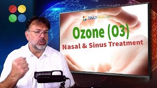 Ozone (O3) nasal and sinus treatment. How to treat sinus infection ...