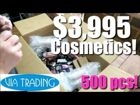 Cosmetics Unboxing - Reselling on eBay
