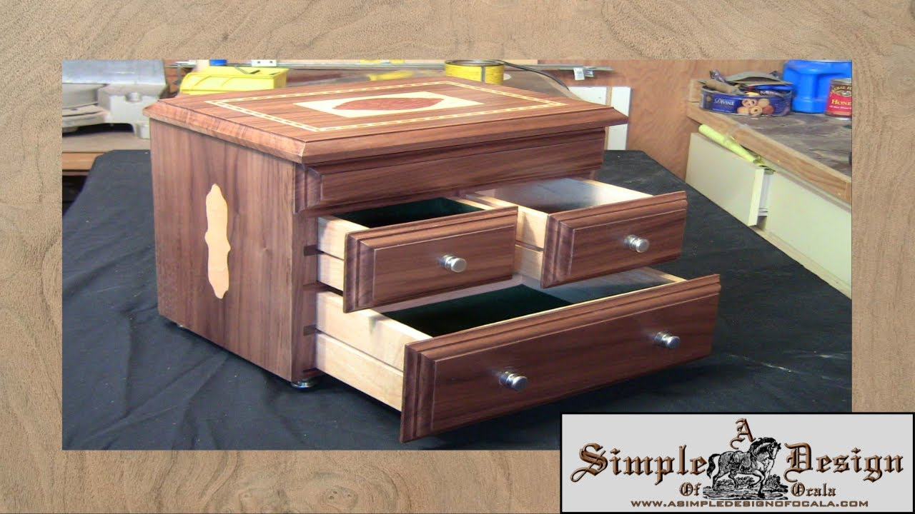 making an inlay jewelry box part 2 youtube. Black Bedroom Furniture Sets. Home Design Ideas