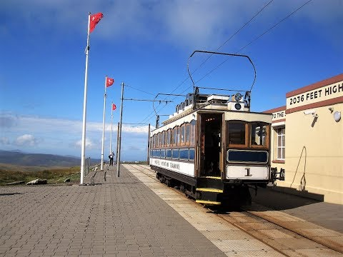 Isle of Man trams. 16th-19th August 2017