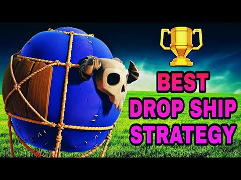 BH7 BEST ATTACK STRATEGY 2018 WITH DROP SHIPS | COC BUILDER HALL 7 BEST 3 STAR ATTACK STRATEGY