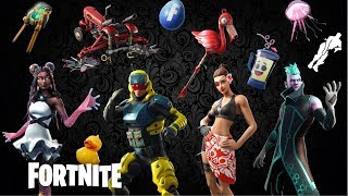 NOUVEAU FORTNITE LEAKED SKIN EVERY NAME AND RARITY OF EVERY NEW LEAKED SKIN FOR FORTNITE PATCH v9.30 NOUVEAU