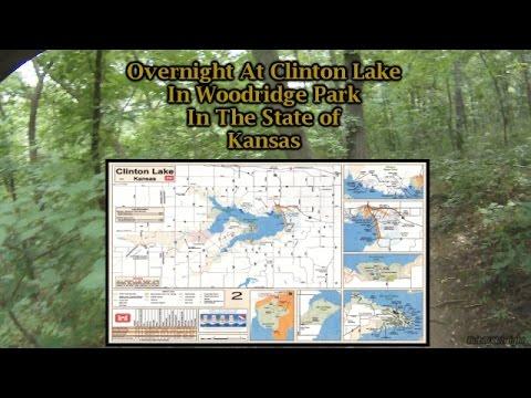Overnight at Clinton Lake in Kansas