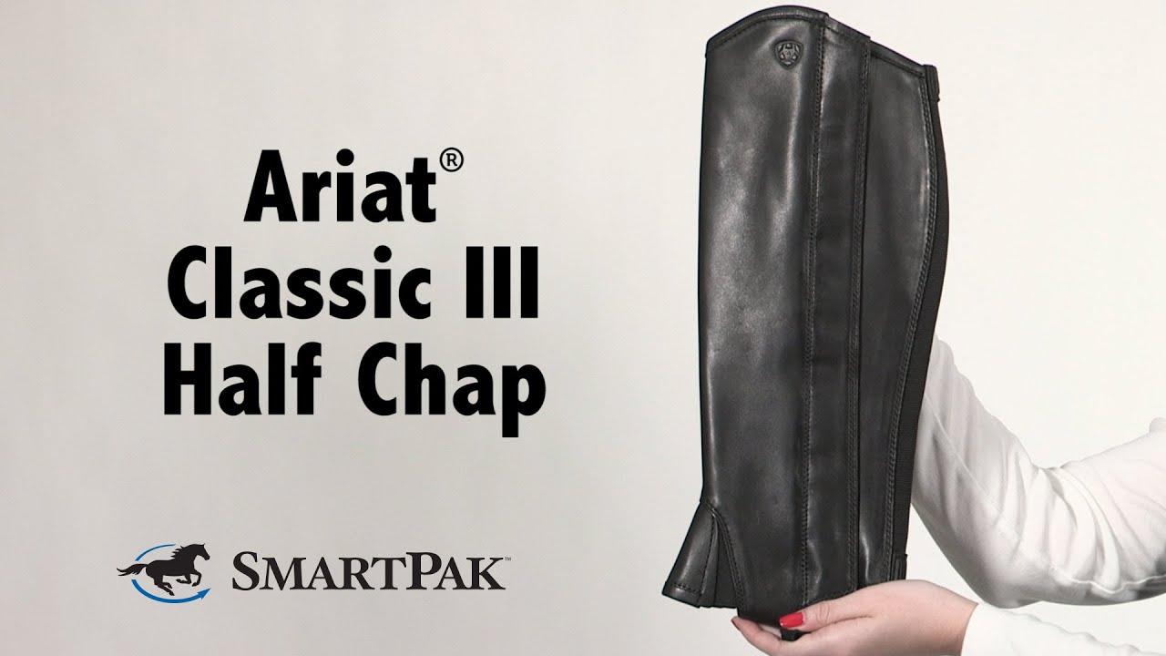 Ariat® Classic III Half Chap Review