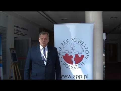 Sławomir Snarski, Starosta Bielski, Wiceprezes Zarządu ZPP podczas XXII Zgromadzenia Ogólnego ZPP
