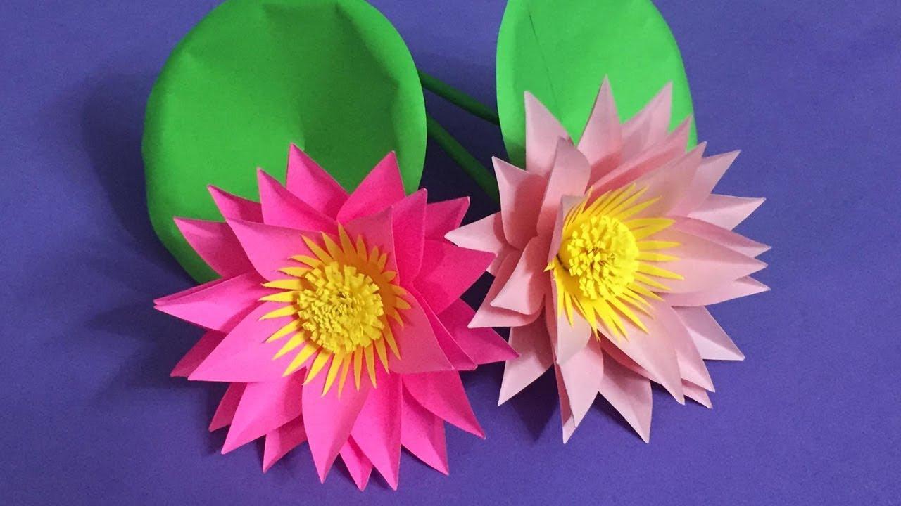 Make a paper calla lily | 720x1280