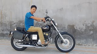 60trieu, rebel 250cc lắc kê vàng 1985 đẹp, máy cực êm, anh em chơi xe hốt nhanh. Honda moto